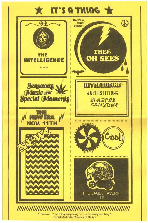 Show Poster — Intelligence Eagle